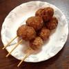 日の出畜産 - 料理写真:つくね(タレ)(1本70円)2014年2月