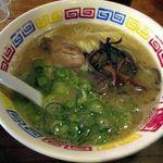 爽風亭 - 料理写真:Aセットのラーメン(とんこつ)