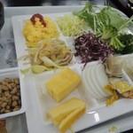 一柳閣本館 - バイキングの朝食