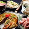 若竹 - 料理写真:色々な種類のお好み焼きを楽しんでください!