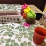 ニーラム - ピクルス?や東南アジア系の香辛料