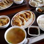 琳 - 焼餃子定食 750円