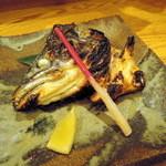 旬味ひげ - 2014.2鮭かぶと焼