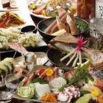 山海酒房 あかね屋 - 料理写真:産直鮮魚を使った宴会コース