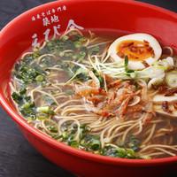 海老そば(自家製海老麺)