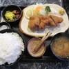 とん平 - 料理写真:ヒレかつ定食(ライス大盛)¥1350