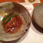 和創作 瑞楽 - 4品目。豚の角煮。