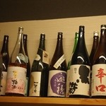 きく家 - 石川の地酒が色々あります