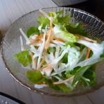 ダージリン - インディアンベジセット750円のサラダ