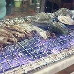 なぁ~た - 北海道鵡川産柳葉魚に桑名産6年物を炭火焼