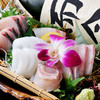 三重人 - 料理写真:四季折々の美味しい鮮魚を満喫『刺身盛り合せ』