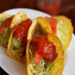 メキシコ - 料理写真:タコス4ピース500円