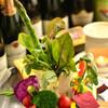 ブリッコーネ - 料理写真:契約農家より届いた無農薬野菜のバーニャカウダ