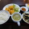 中国料理敦煌 - 料理写真:エビマヨ定食@1,280