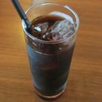 オアシスブルーカフェ - アイスコーヒー
