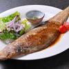 つむぎや テッパンヤキ - 料理写真:舌平目のムニエル 1,200円