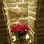 アッピア - エントランスの紅い薔薇