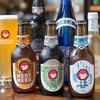 トゥルー・ブルー - 料理写真:常陸野ネストビールと輸入ビール各種