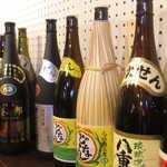 和琉酒菜 空 - 中には、ノミホに含まれてない瓶もありますから、メニューを確かめて♪