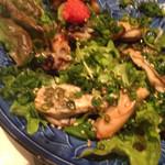 おどり - 牡蠣ソテーのサラダ風