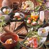山ごぼう - 料理写真:季節の食材を活かした料理は、見た目も美しく、滋味深い味わいが楽しめる。