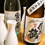 酒徒庵 - 2014.2 日本酒は一升瓶から徳利に移されます