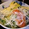 丼 こまつ どんぶりアンド焼酎Bar - 料理写真:カツカレーセットのサラダUp。