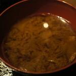 24581102 - 味噌汁(お替わり自由)