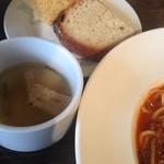 24586737 - スープと自家製パン