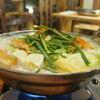 まるゑ - 料理写真:元祖じどり鍋 2日かけて仕上げたこだわりのコラーゲンスープ。