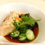築地ビッグ寿司 - あん肝ポン酢(2014年3月)