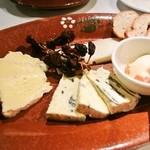 24613738 - チーズの盛り合わせ