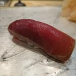 鮨 大河原 - 赤身の漬け