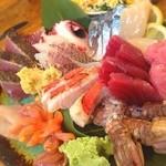 タカマル鮮魚店  - 刺し盛り(大盛り)