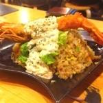 タカマル鮮魚店  - 海老炒飯