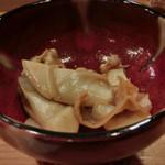 鮨 志の助 - マンジュ貝のバター醤油