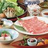 日本料理 筑波嶺 - メニュー写真:米沢牛しゃぶしゃぶ会席|¥6,000