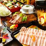 男のガチンコ厨房おうげん - 料理写真:人気のしゃぶしゃぶコース☆