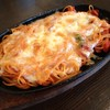 ムカイ - 料理写真:ムカイ1番人気!!鉄板チーズナポリ。