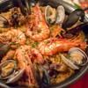 サイドウェイ - 料理写真:つや姫の魚介パエリア