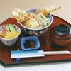 海の幸 魚長 - 料理写真:穴子一本天丼 1,050円