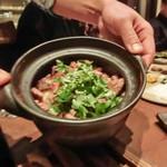 たまや - 能登牛の土鍋ご飯