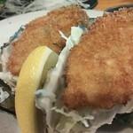 なぁ~た - 門司産生牡蠣を牡蠣フライに!!