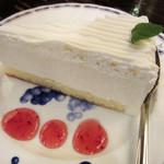 銀座北欧 - レアチーズケーキ