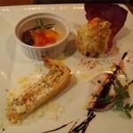 トラットリア バビバビ - 前菜4種盛り