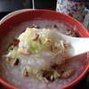 海鮮餃子 帆船 - 料理写真:ほっこり。お粥。