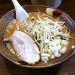 岩本屋 - ベジポタ濃厚味噌ラーメン大盛930円