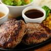 ステーキ&ハンバーグ専門店 肉の村山 - 料理写真:溢れ出す肉汁がくせになる『SAMURAIハンバーグ』