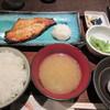 """竹とんぼ - 料理写真:""""つぼ鯛照り焼きセット""""¥850"""