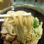 麺屋 はなぶさ - 3-2)和えそばの麺